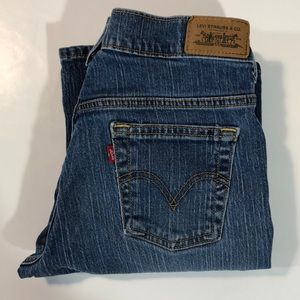 Levi's 515 Mid Rise Stretch Boot Cut Jeans